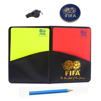Soccer Referee Cards with Coin Whistle Keychain Red Card and Yellow Card Tool Football Referee Kit Outdoor Survival Equipment недорого