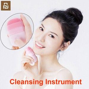 Image 1 - Youpin Instrumento de limpieza inFace inteligente, Limpieza Profunda, belleza Facial Sónica, masajeador para tratamiento de la piel Facial