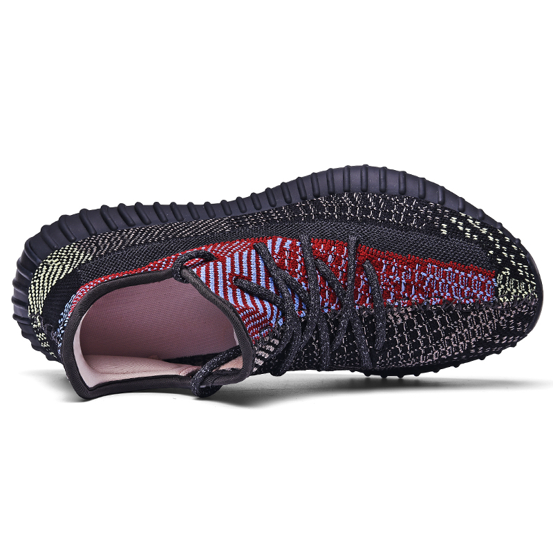 Luminous 2020 Summer Sneakers Breathable Men Casual Shoes Mesh Mens Luxury Branded Designer Male Rubber Sole Shoes Zapatillas 2