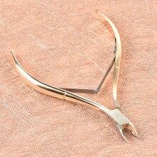 Cortador de cutículas de uñas herramienta de aseo Acero inoxidable dedo y dedo del pie piel muerta tijeras para cutículas cortaúñas pinzas manicura herramienta