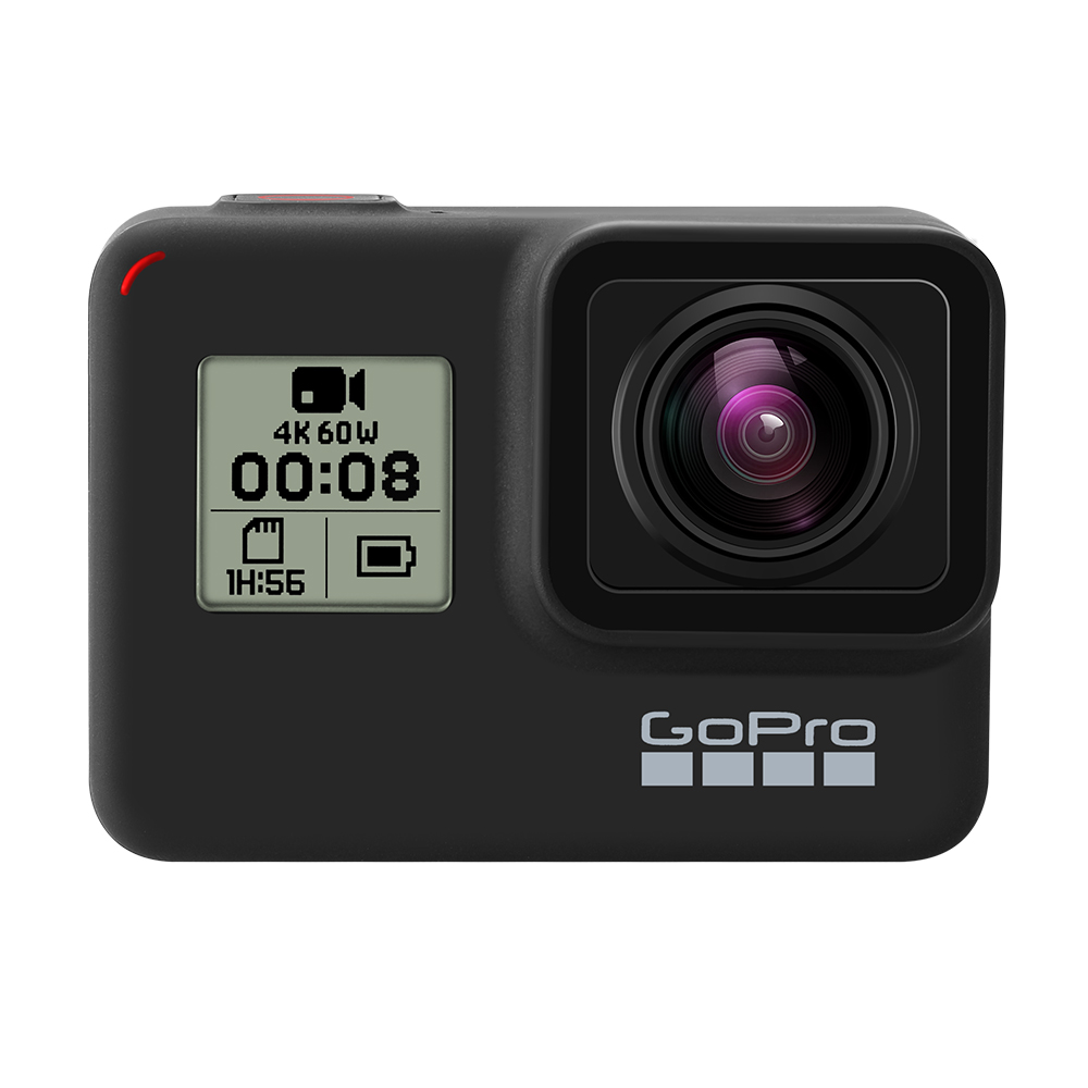 Original GoPro HERO 7 Black Waterproof Action Camera 4K Ultra HD Video 12MP Photos 1080p Live Streaming Go Pro Hero7 Sports Cam 2