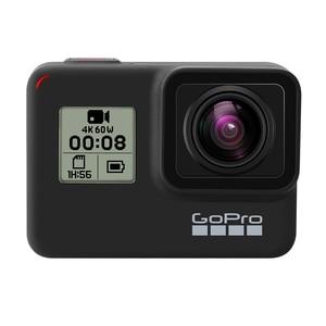 Image 3 - Originale GoPro HERO 7 Nero Impermeabile Macchina Fotografica di Azione 4K Ultra HD Video 12MP Foto 1080p In Diretta Streaming Andare pro Hero7 Sport Cam