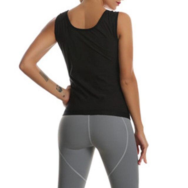 Slim Stretch  Body Suit Sweat Belt Shaper Waist Trimmer Sauna Vest Waist Trainer Corset Tank Top Shapewear Slimming Underbust 3