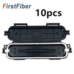 Neue Faser schutzhülle box FTTH Tropfen kabel wasserdichte schutz box rohr 10 stücke schrumpfschlauch