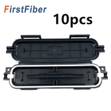New Fiber protective box FTTH Drop cable waterproof protection box tube 10pcs  Heat shrinkable tube