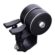 Bicycle Bell, Super Loud Mountain Bike Double Bell Bicycle Accessories (Suitable for Diameter 22mm-24mm) black цены