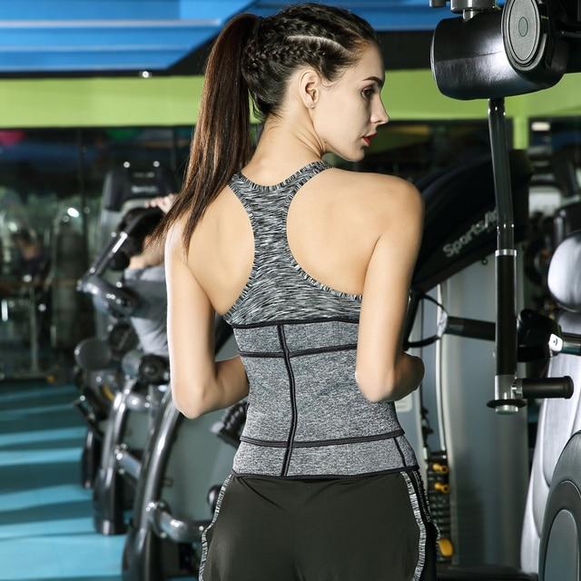 Waist Trainer Corset Cincher Sauna Sweat Faja Sport Girdle Slimming Shaper Abdominal Trimmer Belt Modeling Posture Corrector 2