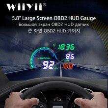 Projector Head-Up-Display I9 Safety-Alarm Car Hud Car-Speed NEW LED Scanner Windscreen-Obd