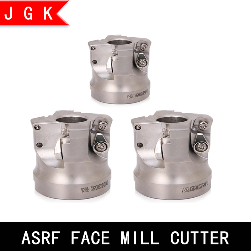 ASRF 12-63-22-4T-A CNC Fast-forward Indexable Face Milling Cutter For SDMT