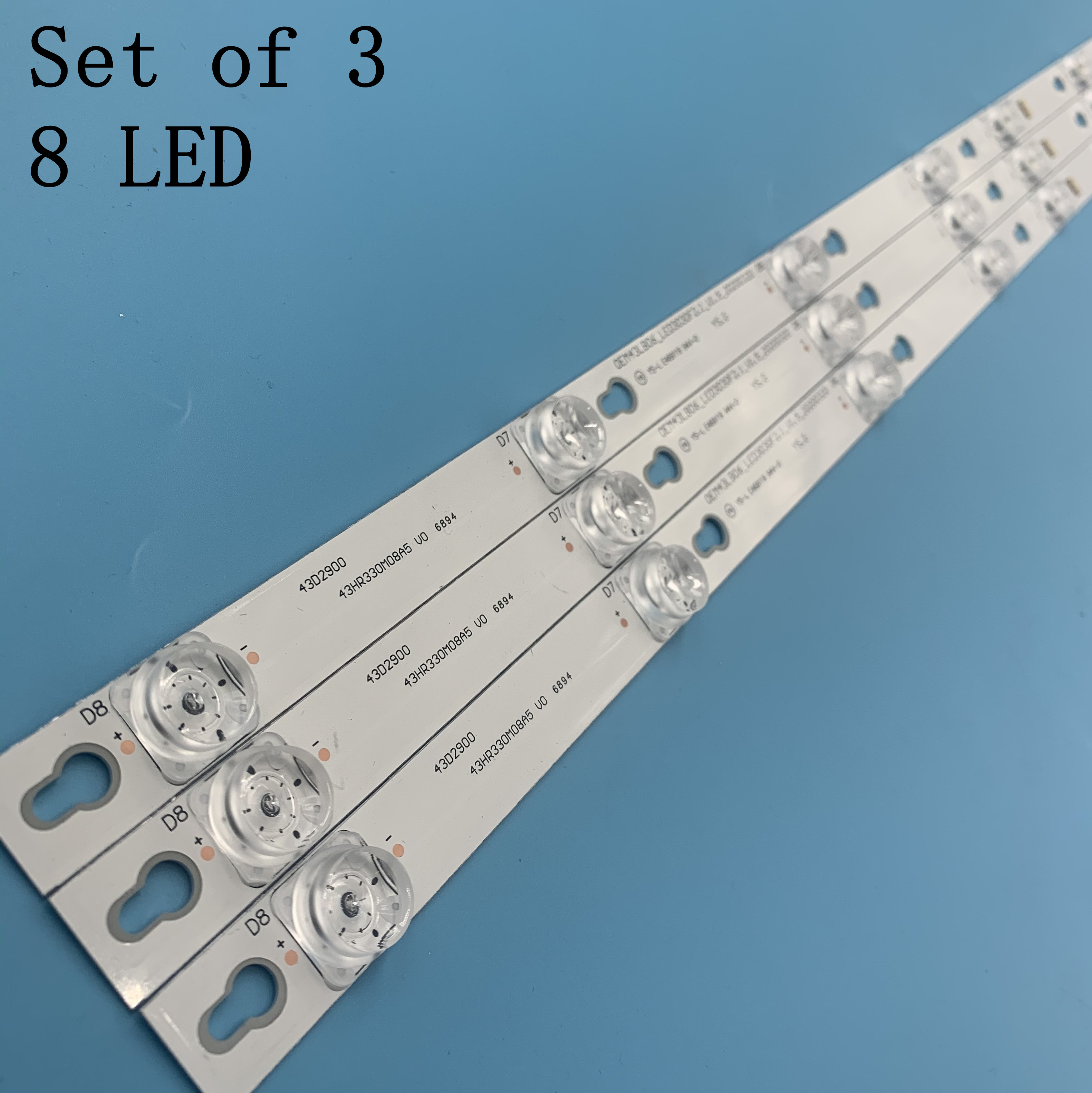 TCL D43A810 Strip 43HR330M08A2 V5 43D2900 4C-LB4308-HR02J Recess Lights