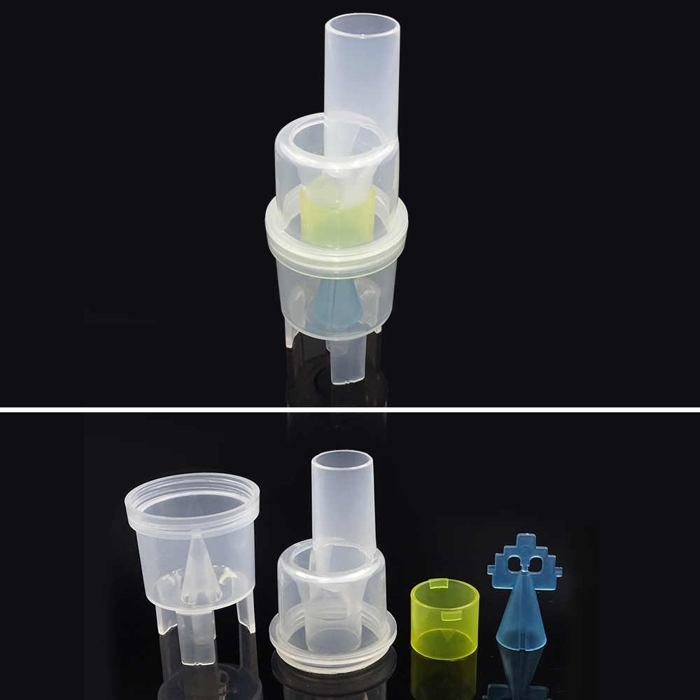 Hogar médico adulto niño Aerosol máscaras nebulizador rociador de compresor Copa boquillas Nosepieces catéter inhalador Set Accesorios
