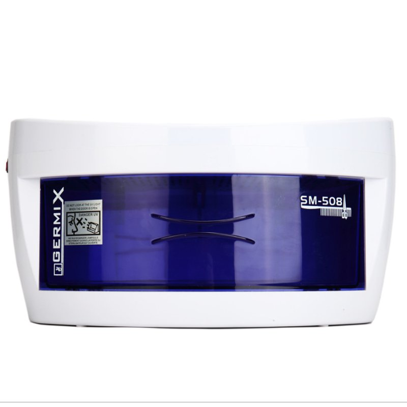UV Sterilizer Box Nail Art Tools Double Ozone Ultraviolet Disinfection Cabinets Sterilizer Manicure Machine for Nail Art Salon