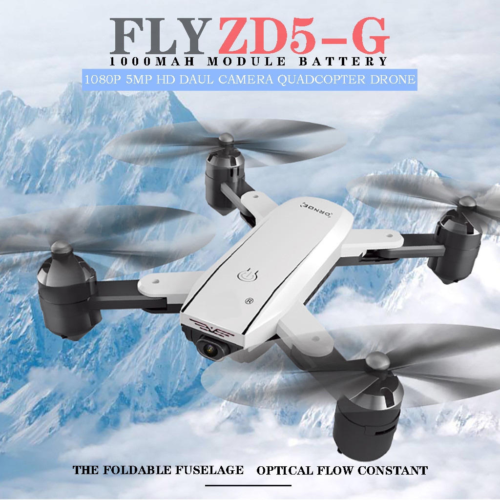 2.4Ghz 4CH 1080P 5MP WIFI Optical Flow Dual Camera Quadcopter <font><b>Drones</b></font> With Camera HD Flying <font><b>Minion</b></font> Rc Quadcopter Hot image