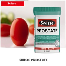 Swisse Prostate Urinary Tract tablets Male Tonic Zinc Men Sexual Vigor Sperm Reproductive BPH Health Pills Dietary Supplement