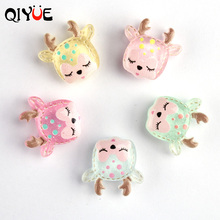 Qiyue  Cartoon Sequin Fawn  Refrigerator Stickers Whiteboard Notes Stickers Home Decoration Accessories souvenir цена 2017