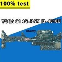 ZIPS1 LA A341P Laptop motherboard for Lenovo ThinkPad YOGA S1 original mainboard 4G RAM I3 4010U|Motherboards| |  -