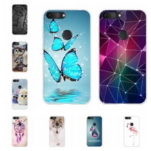 For Alcatel 1S 2019 Case Ultra-slim Soft TPU Silicone 1s Cover Geometric Patterned alcatel Bumper Funda