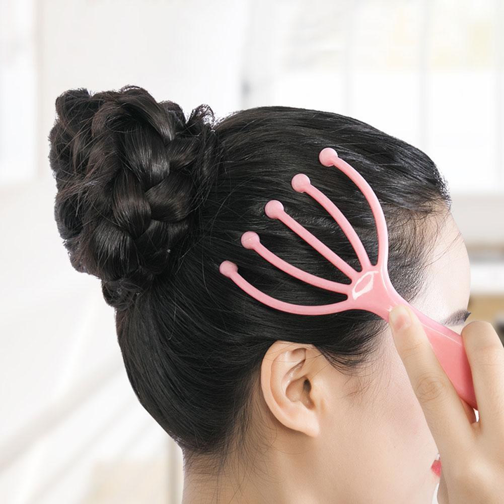 1pcs Octopus Head Scalp Neck Stress Release Equipment Massage Relief Body Claw Massager Relax Care Tens Pain