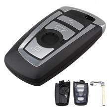 4 Buttons Car Key Fob Case Shell Replacement Remote Cover Protector Fit for BMW 1 3 5 7 F Series CAS4 System New