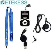 Retekess T131 Ricevitore Wireless + Auricolare per Tour Guide sistema di Interpretazione di Traduzione Simultanea Insegnamento Meeting Chiesa
