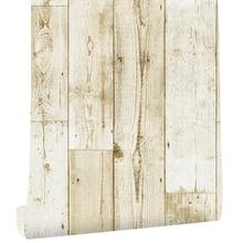Papier peint autocollant en planche de bois, autocollant classique en vinyle auto-adhésif, Design pour murs de salle de bains, chambre à coucher, décoration de maison