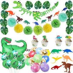 66 Pack Dinosaur Party Supplies Little Dino Party Decorations Set for Kids Birthday Party Baby Shower Decoration Children Party