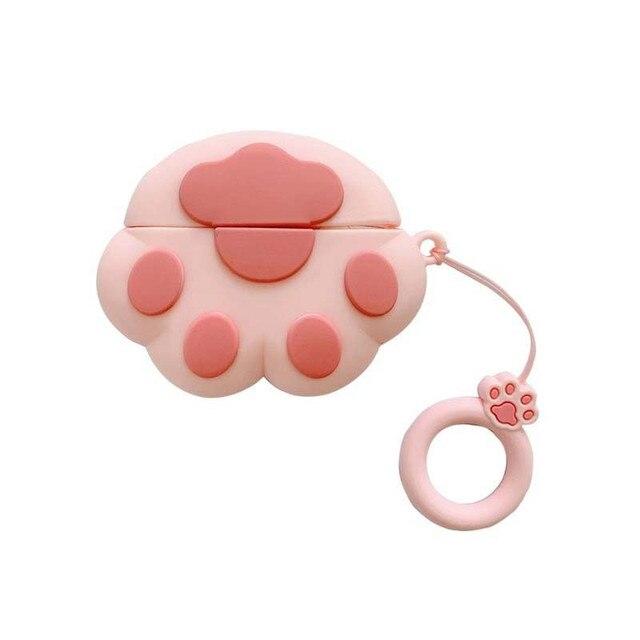 Lindo estuche para auriculares para Airpods estuche Bluetooth divertido 3D funda de garra de gato para Apple Air pods 3 estuche protector para auriculares