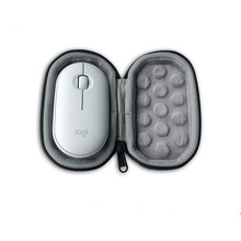 Portable Carrying Case for Logitech Pebble Mouse Cover Storage Box Protection Bag