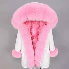 2020 winter real fur coat fashion women's outwear Oversized