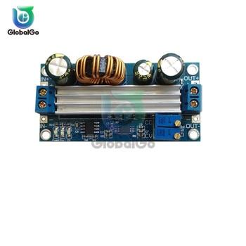 3A 35W DC 5 -30V to DC 0.5 -30V Step Up Down Buck Boost Converter Power Supply Module Voltage Regulator Heat Sink oringinal 3a adjustable dc dc lm2596 lm2596s input 4v 35v output 1 23v 30v dc dc step down power supply regulator module