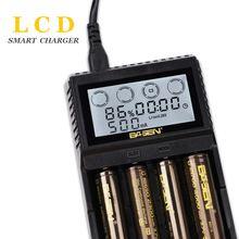 Bl4 ЖК дисплей Батарея Зарядное устройство для 18650 26650 21700