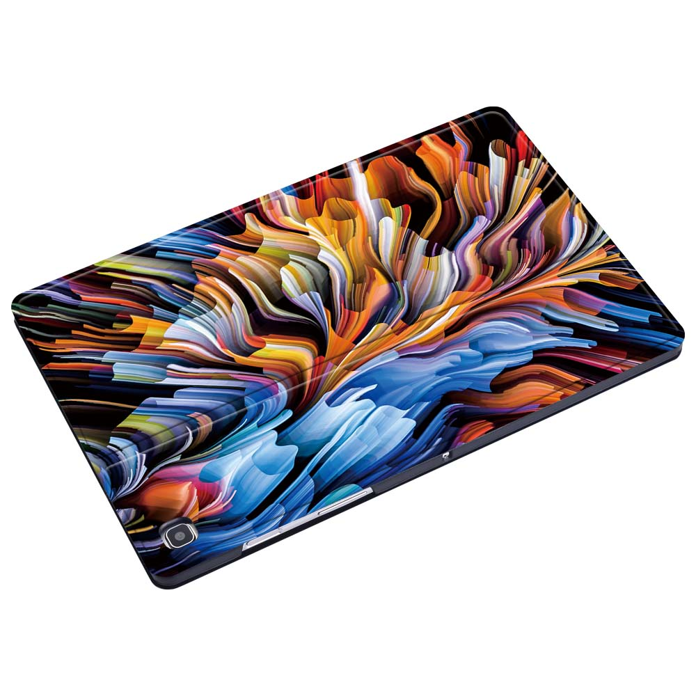 Tablet Case for Samsung Galaxy Tab S6 Lite 10.4/Tab A 8.0/A6 7/10.1/Tab A 9.7/10.1/10.5/Tab E/ S5E Pu Leather Cover Case +Stylus-4