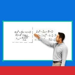Zelfklevend Office Onderwijs Magnetische Whiteboard Muur Plakken Droog Wissen Magnetische Zachte Whiteboard Vergadering Board