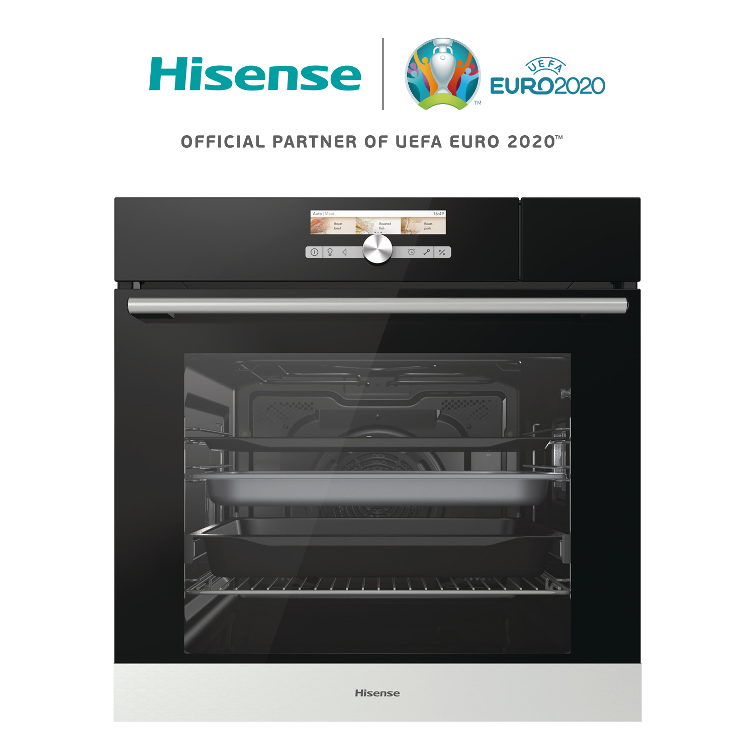 Hisense BS5545AG Oven, Combi, Recessed, 3400W, 73 L Class TO +, Three Trays, Closure SoftClose, Dehydration, SlowBake