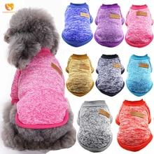 Уютный классический свитер для собаки, для питомца одежда с принтом в виде собак для маленьких собак зимнее теплое пальто из флиса высокого качества 15 цветов Рождественская одежда