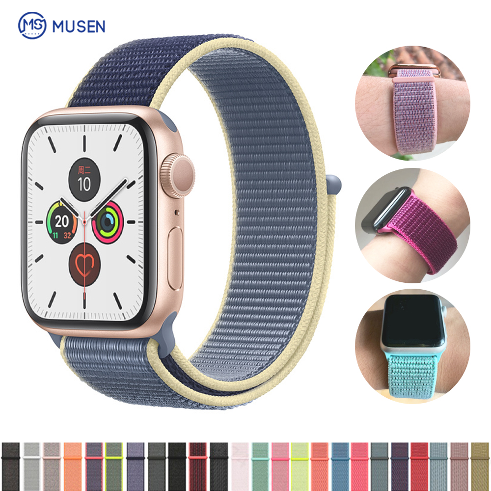 The Sport Band Is The Apple Watch Band 5 3 Iwatch Band 42mm 38mm 44mm 40mm Correa Apple Watch Band 4 Bracelet Watch Accessory