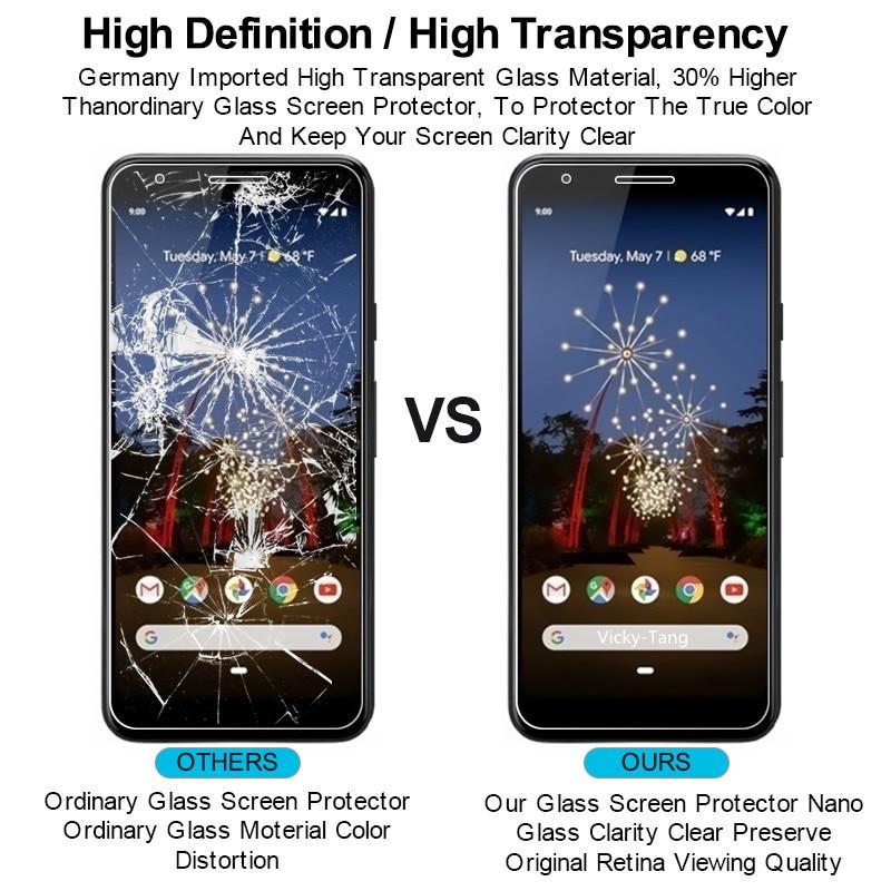 Premium High Grade Glass For Google Pixel 2 3 4 3a Xl Lite 1 Pixel 2 Pixel 3 lite Phone Screen Protector Protective Film in Phone Screen Protectors from Cellphones Telecommunications
