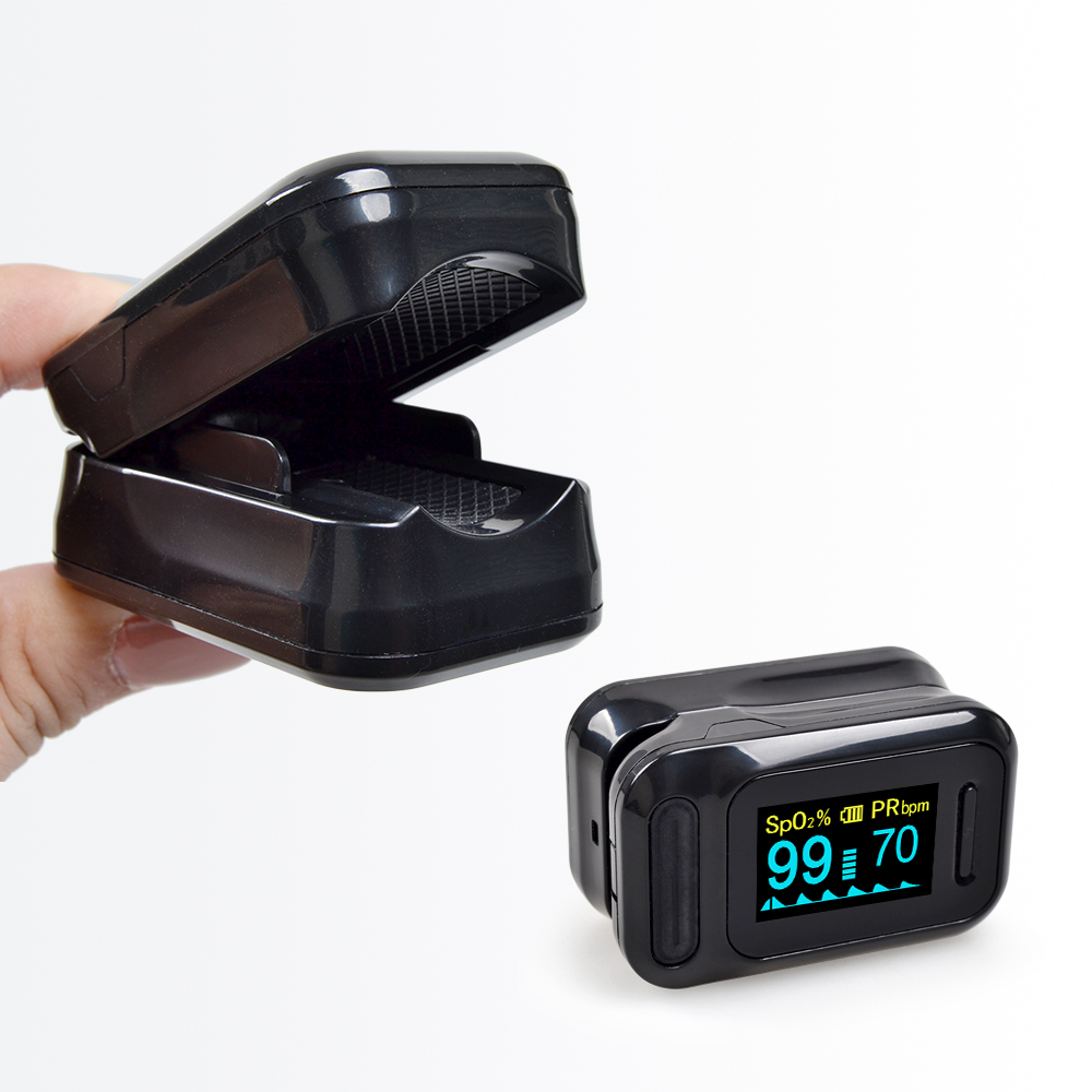 ELERA Finger Pulse Oximeter with OLED Display to calculate Blood Oxygen Saturation 10