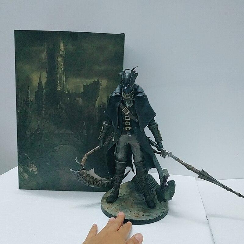 30cm bloodborne os caçadores antigos foice pvc figura de ação modelo brinquedos boneca para o presente