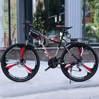 24 Inch Mountainbike 21/24/27/30 Speed Volwassen Variabele Snelheid Fiets Student Vlaggenschip Off-Road Dubbele schijfrem Fiets
