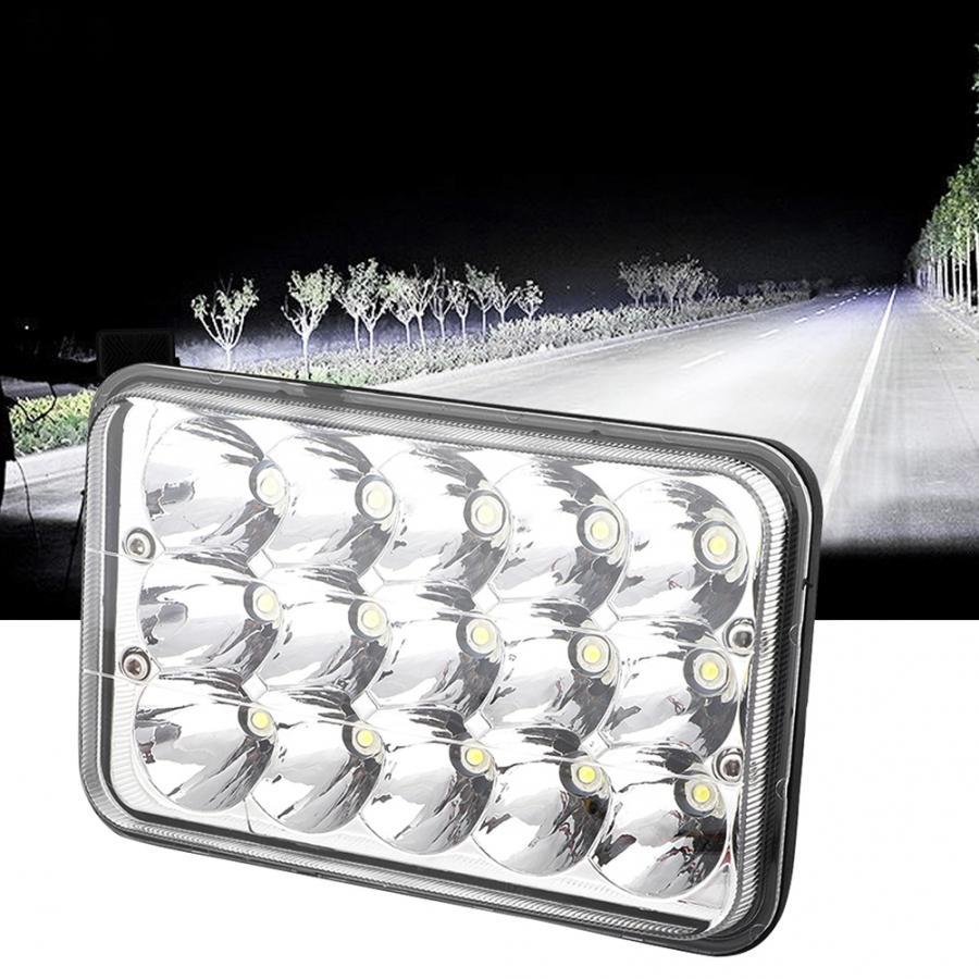 6.5inch 150W LED SUV Truck Rectangle Headlight Assemblies Hi//Lo Beam 15000LM