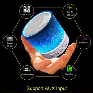 Image 3 - Mini Bluetooth LED Portable Speakers Wireless Speaker With TF Mic Blutooth Music For Xiaomi HUAWEI Phone