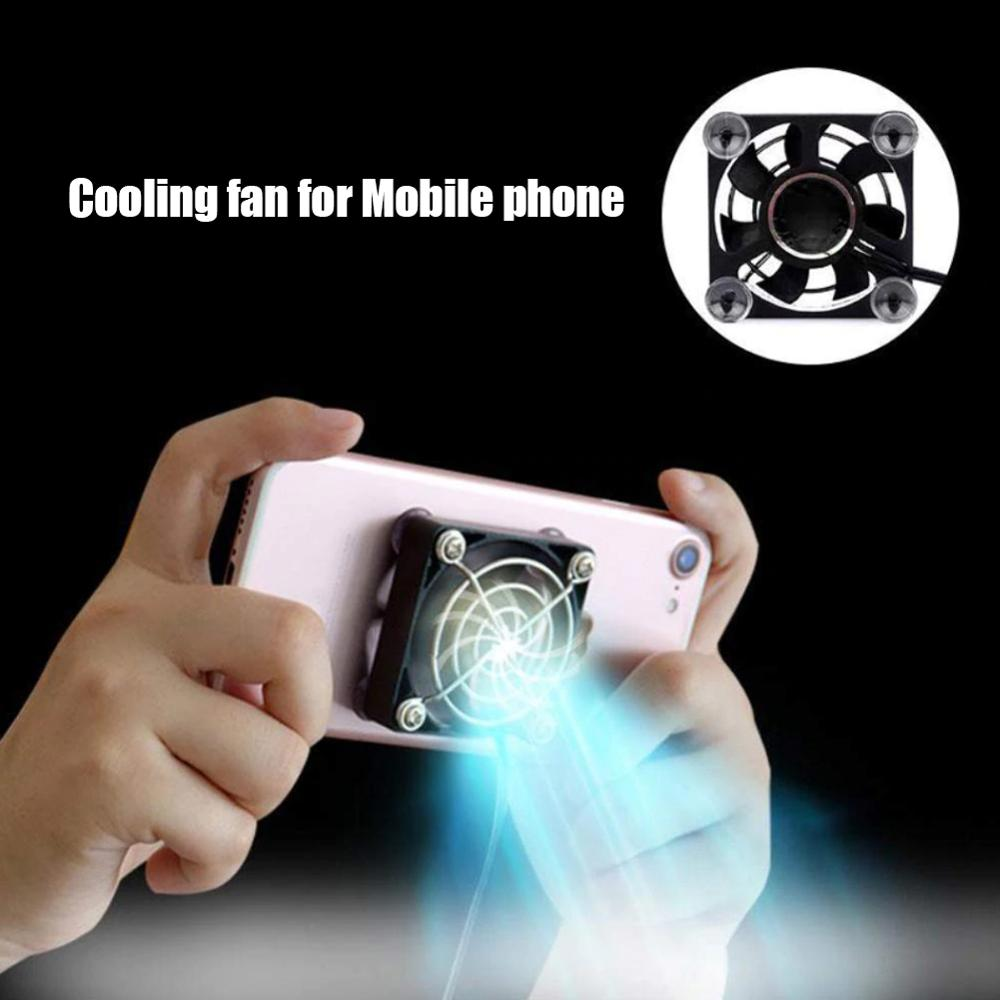 Universal Portable Mobile Phone Cooler USB Cooling Fan for Mobile Gaming