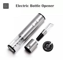 New Circle Joy Electric Bottle Opener Stainless Steel Mini Wine Stopper Wine Decanter Aerator Corkscrew Foil Cutter Cork
