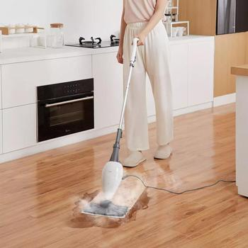 Deerma ZQ100 Vacuum Cleaners Mop Steam Generator Household Floor Electric Carpet Broom For home Cleaning Washer Vacuum Cleaner hot deerma steam cleaner zq610 zq600 electric handheld mop floor cleaner for home