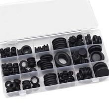 125 шт водонепроницаемый инструмент для защиты проводов 18 набор размеров уплотнительные резиновые кабели комплект для втулки электрические вилки проводник уплотнительное кольцо