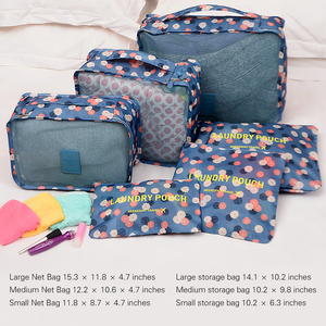 6 PCS Travel Storage Bag Set F