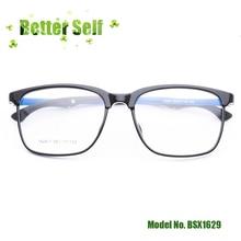 Square Large Glasses Frames BSX1629 Big Face Eyeglasses Can Do Myopia Lens Men Women Optical Eyewear Popular Tr90 Spectacles
