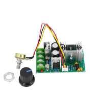 Controlador de velocidad del motor DC 10-60V, controlador de velocidad del motor, interruptor, regulador de corriente 20A, módulo de varilla de potencia alta
