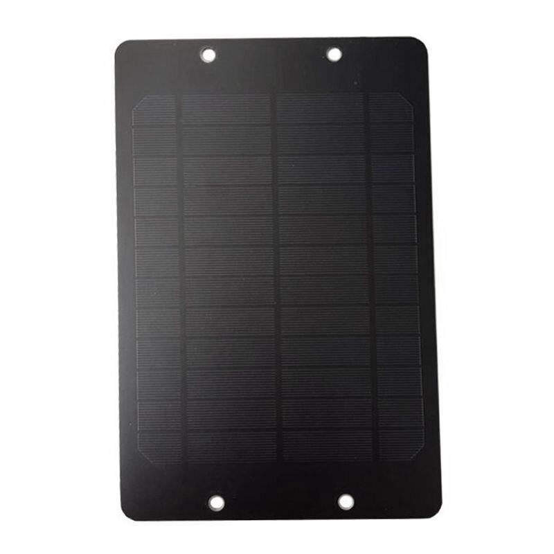 AAAE Top-6V 6W Solar Panel Mit Junction Box Für Fahrrad Teilen DC System Öffentlichen Vermietung Fahrrad Solarzelle Monocrystallin universal